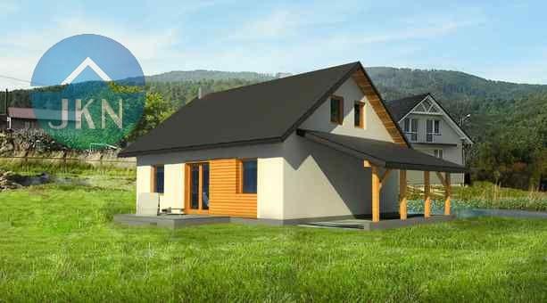 Wizualizacja budynku - lato